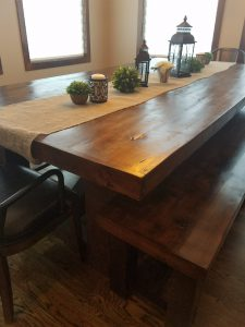 Large Harvest Table